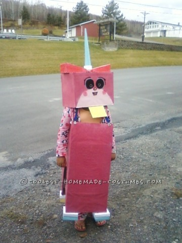 Quirky Unikitty Lego Movie Costume for a Girl