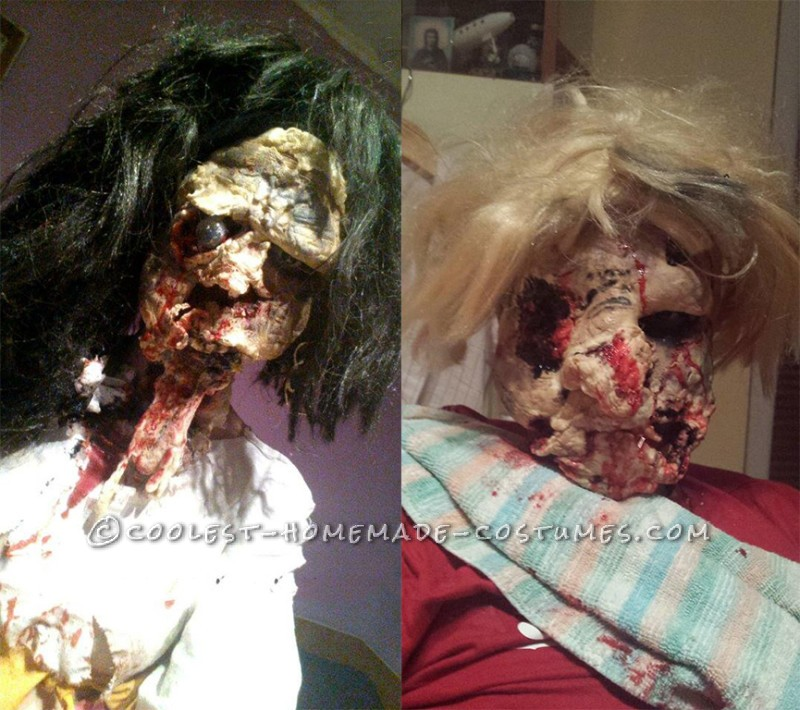 Homemade Wrong Turn Zombie Couple Costume