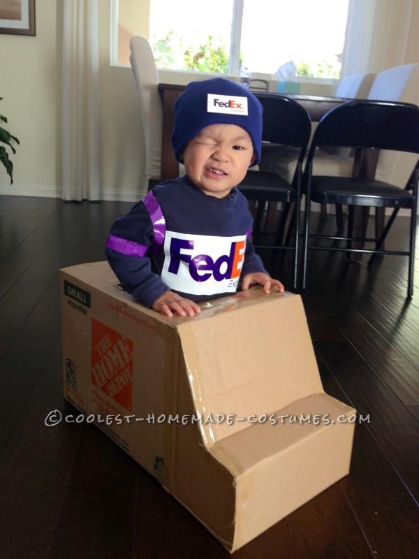 Winking FedEx Driver