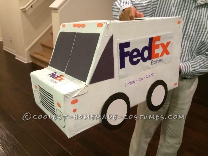 Decorated FedEx Truck