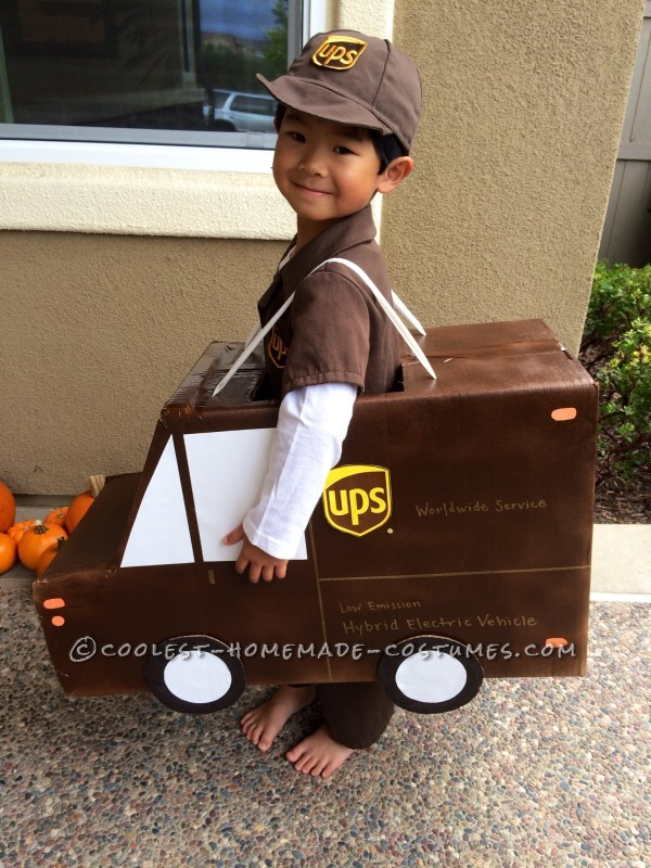 Cutest UPS Delivery Guy