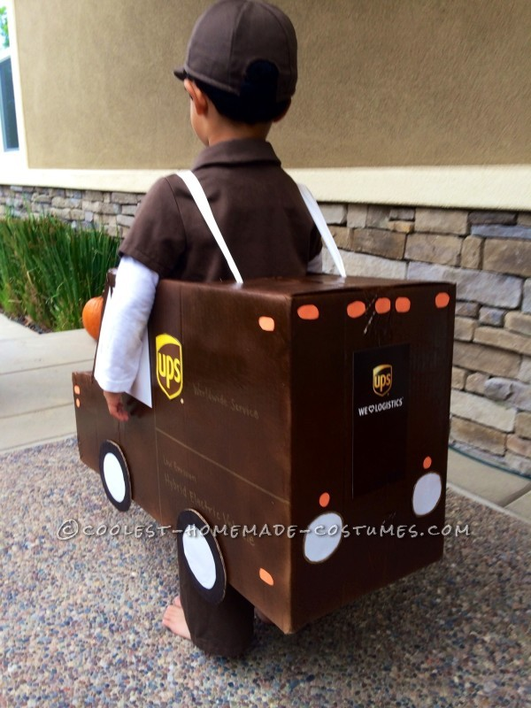 Ups Fedex And Usps Family Costume Working Together For