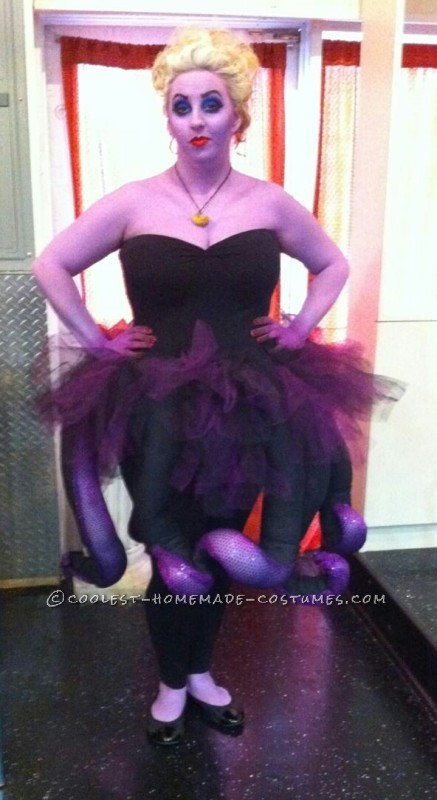 Coolest Homemade Ursula Costume