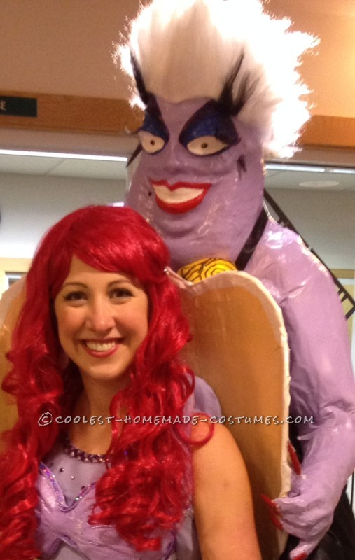 Amazing Ursula and Ariel Little Mermaid Illusion Costume