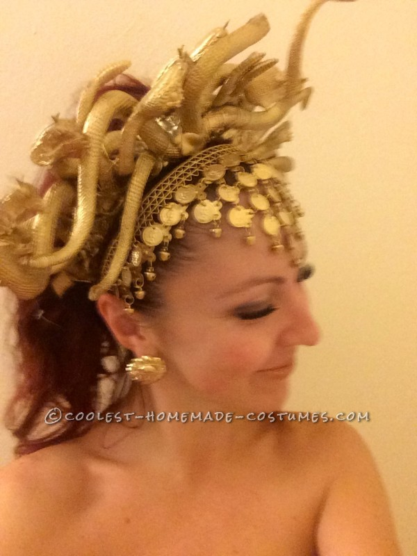 Sexy Versace Style Medusa Costume