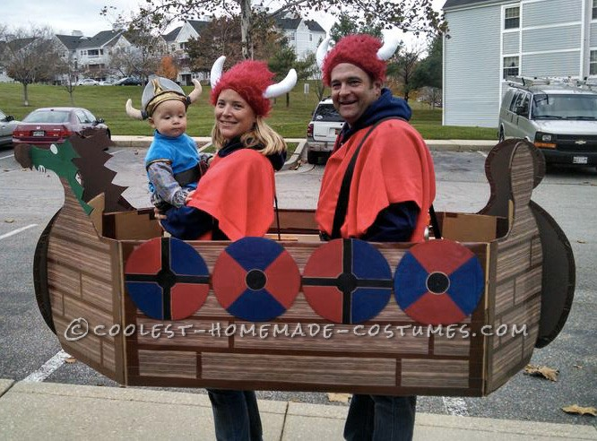 Viking Family Boat