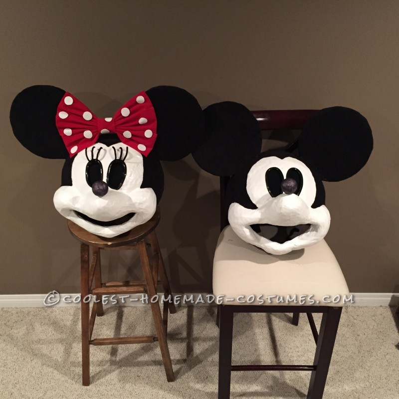 Vintage Mickey and Minnie Mouse Costume - 2
