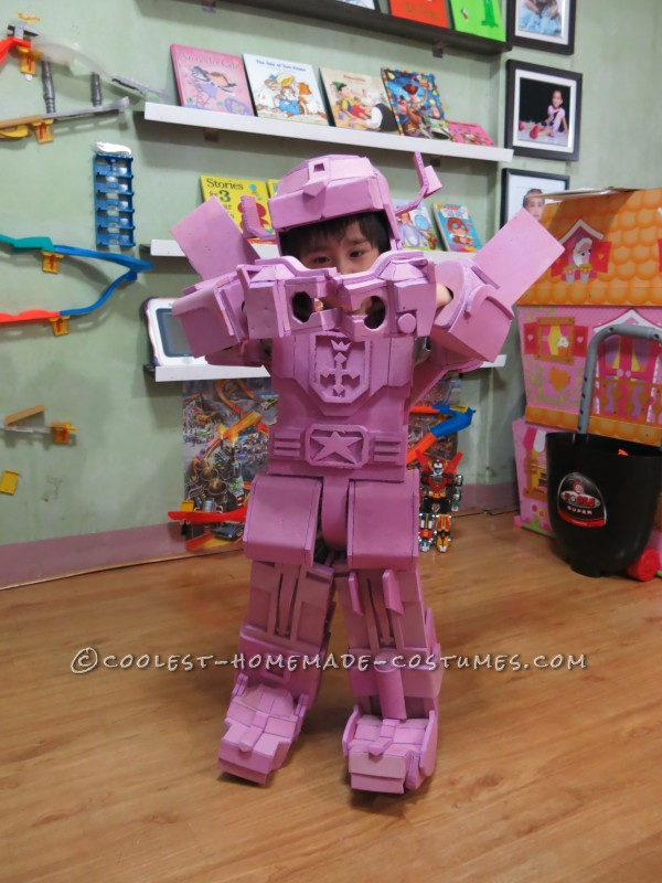 Cool Voltron 3-Year Old Boy Costume - 7