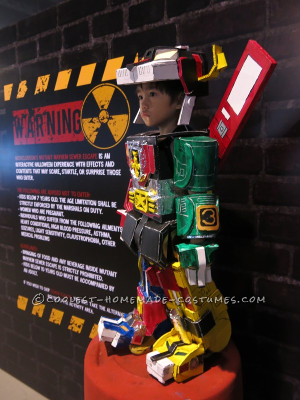 Cool Voltron 3-Year Old Boy Costume - 4