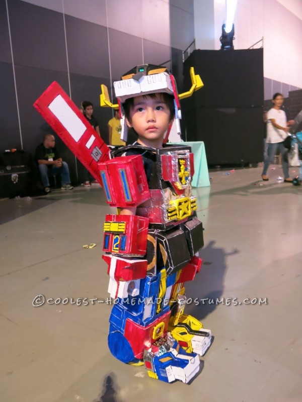 Cool Voltron 3-Year Old Boy Costume - 2