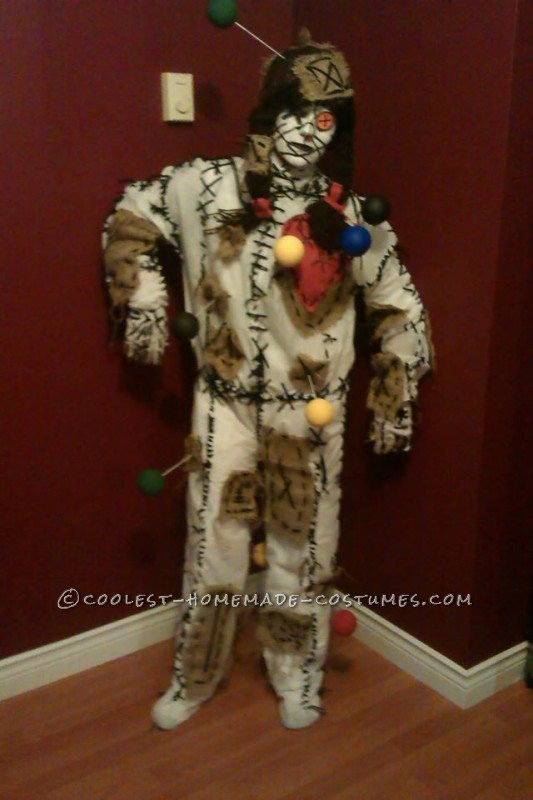 Special Homemade Voodoo Doll Costume - 2