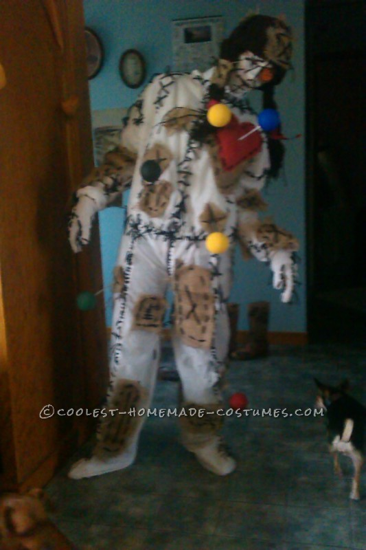 Special Homemade Voodoo Doll Costume - 3