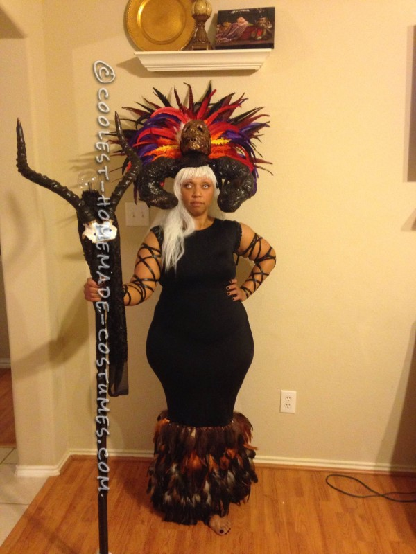 Cool Voodoo Witch Doctor Costume