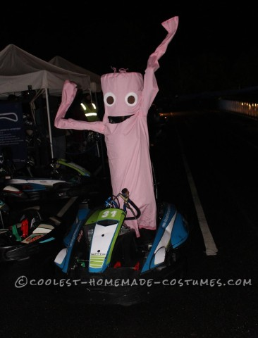 Wacky Wavy Inflatable Tube Man/Woman Costume