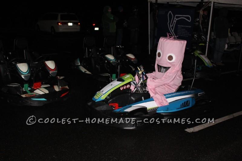 Wacky Wavy Inflatable Tube Man/Woman Costume - 2
