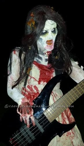 Zombies play bass too