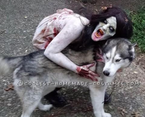 Creepy Walking Dead Zombie Costume!