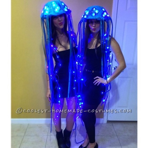 Sexy Jammin' Jellyfish Couple Costume