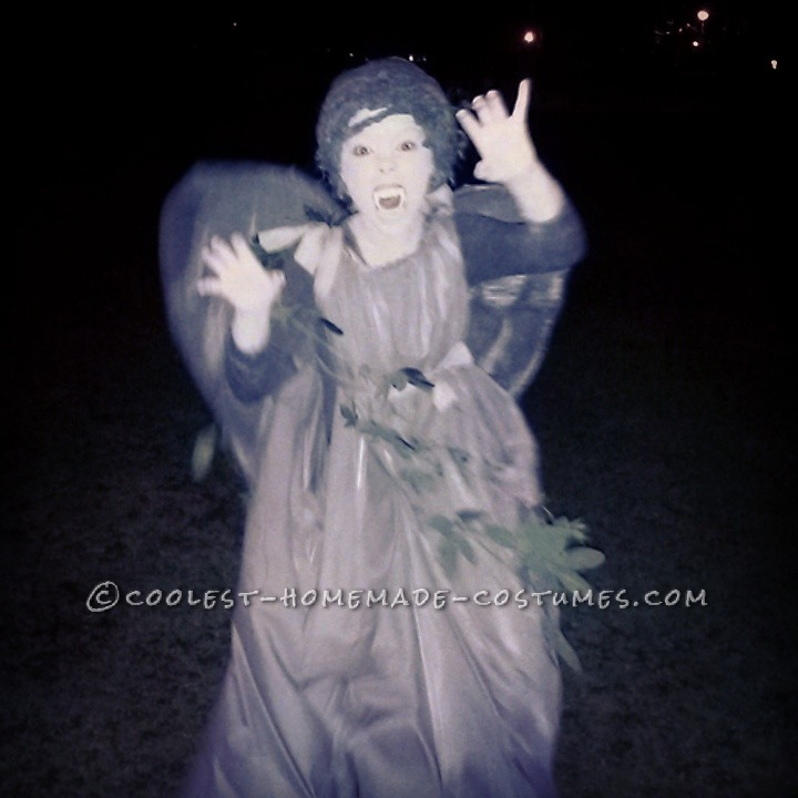 Coolest Dr. Who Weeping Angel Costume
