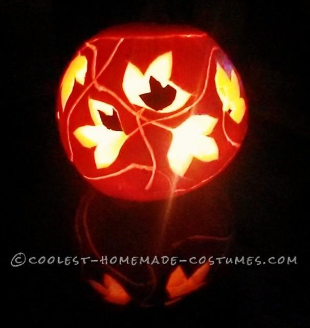 ivy pumpkin accessory