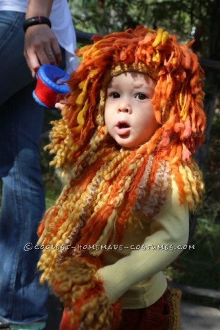 Super Cute Lion Toddler Costume