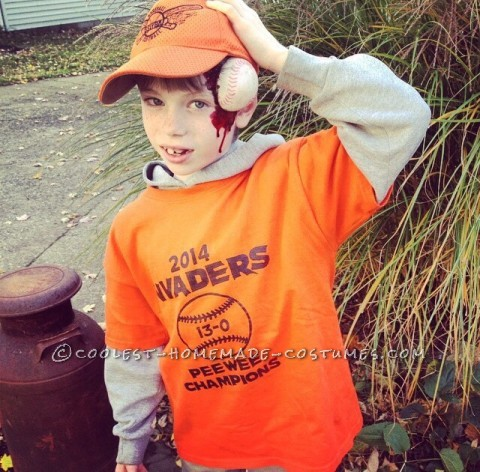 Original Baseball Costume for a Boy - Whatever it Takes to Bring Home the Championship!