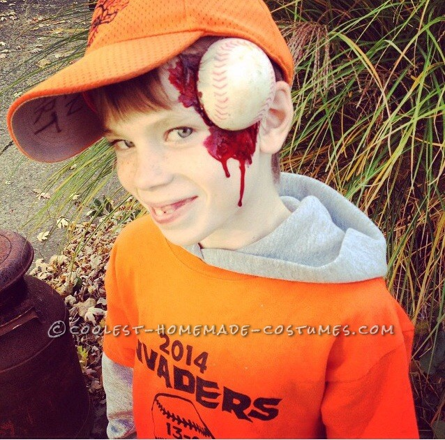 Original Baseball Costume for a Boy – Whatever it Takes to Bring Home the Championship! - 1