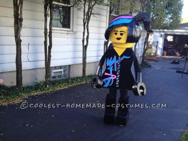 Coolest Homemade Wild Style Costume from the Lego Movie