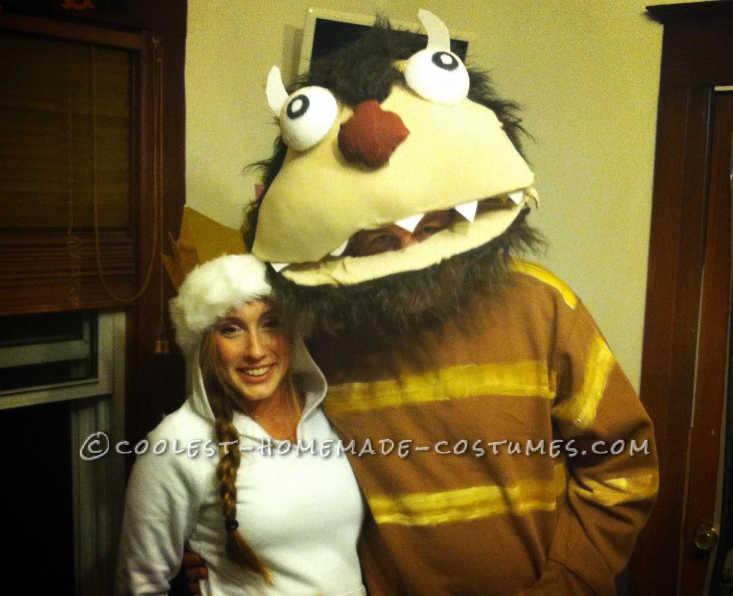 Homemade Wild Things Couple Costume