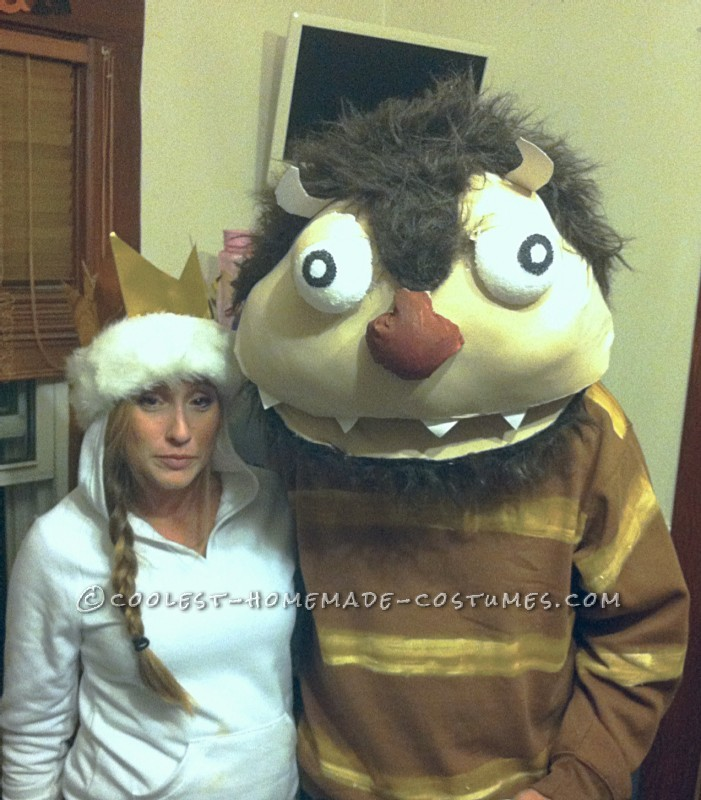 Homemade Wild Things Couple Costume