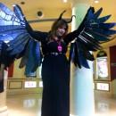 Homemade Winged Maleficent Costume