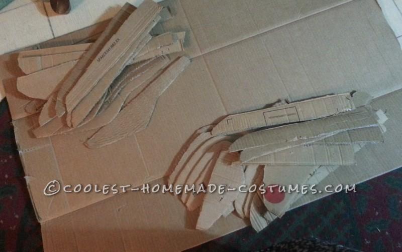 Homemade Winged Maleficent Costume - 1