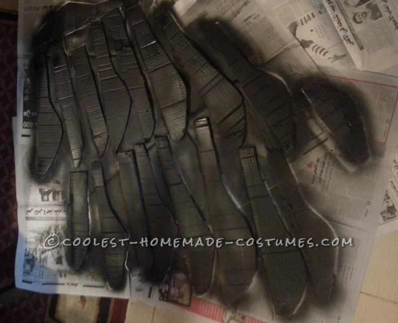 Homemade Winged Maleficent Costume - 4