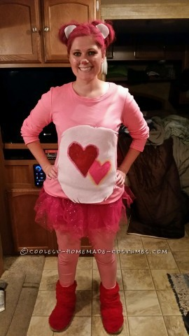 Woman's Low Cost Last Minute Love-a-Lot Care Bear Costume