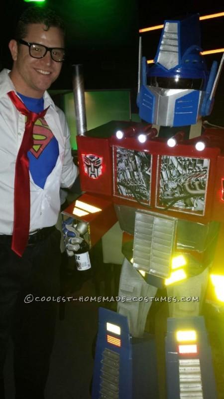 Work of Love Optimus Prime Costume - 2