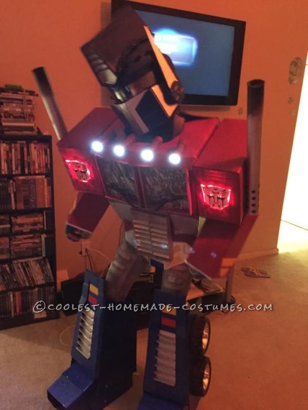 Work of Love Optimus Prime Costume - 1