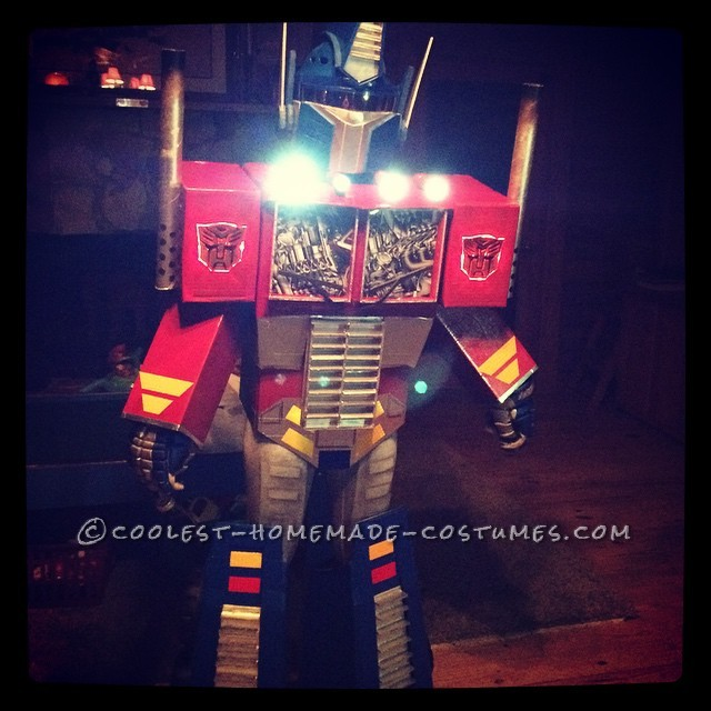 Work of Love Optimus Prime Costume