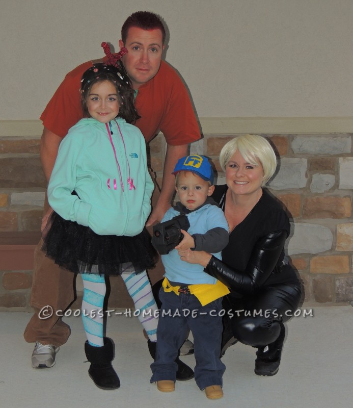 Coolest Wreck-It-Ralph Family Costume