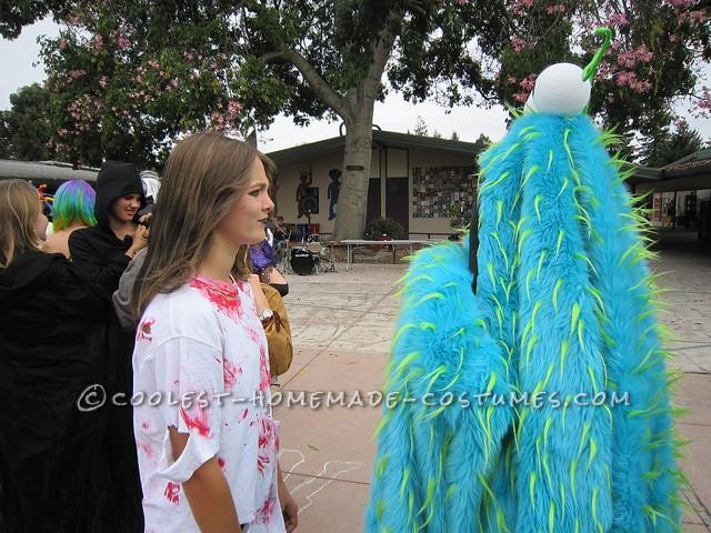 Original Homemade Yip Yip Meets Monsters Inc. Costume - 3