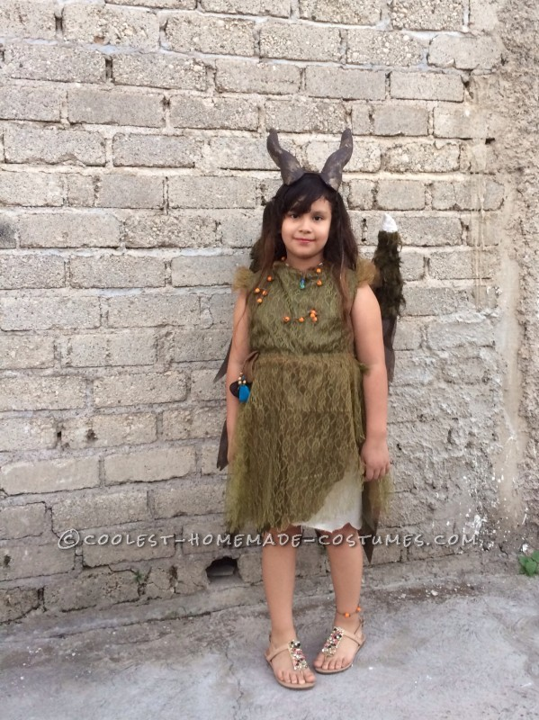 Young Maleficent Homemade Disney Costume - 1