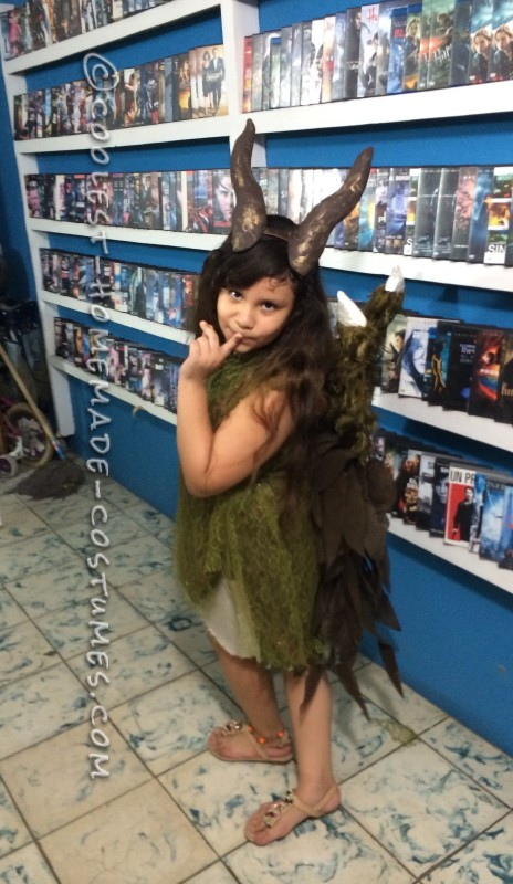 Young Maleficent Homemade Disney Costume - 2