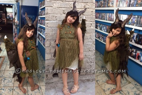 Young Maleficent Homemade Disney Costume