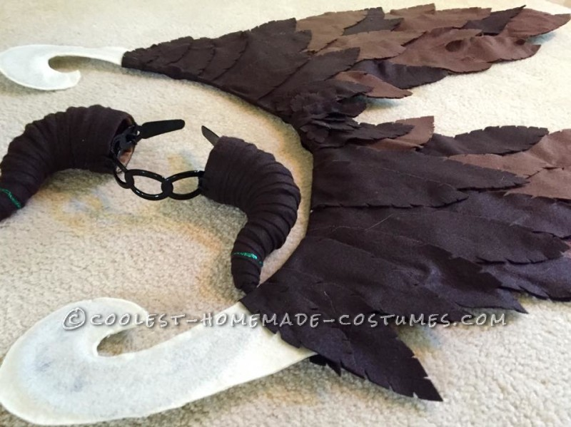Young Homemade Maleficent Costume – Only If She Could Fly! - 6