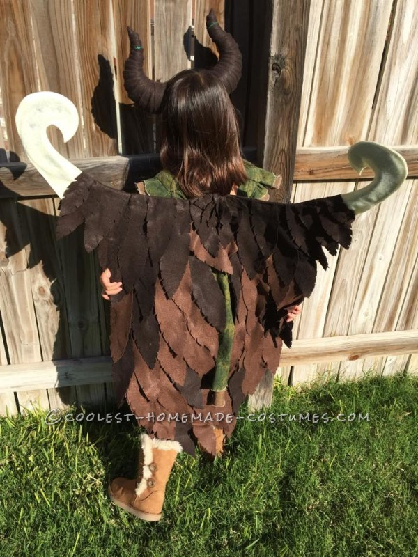 Young Homemade Maleficent Costume – Only If She Could Fly! - 3