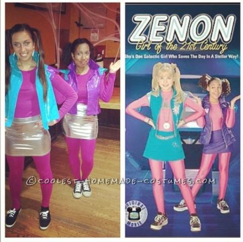Homemade Zenon and Nebula Best Friends Costume