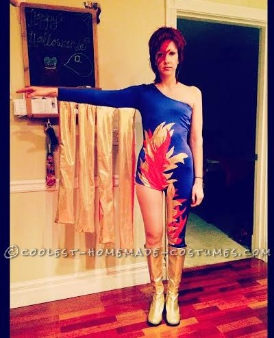 Flashy Ziggy Stardust Costume