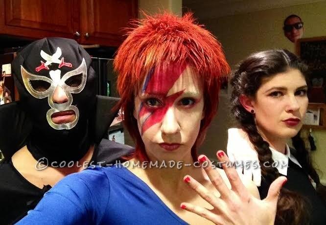 Flashy Ziggy Stardust Costume - 2