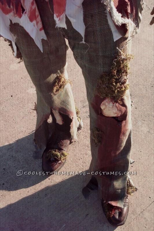 Cool Homemade Zombie Costume - 2