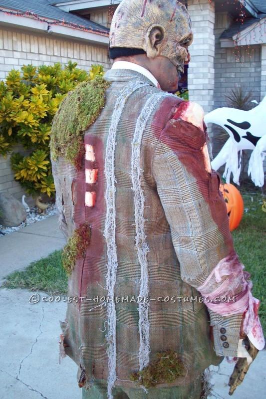 Cool Homemade Zombie Costume - 3