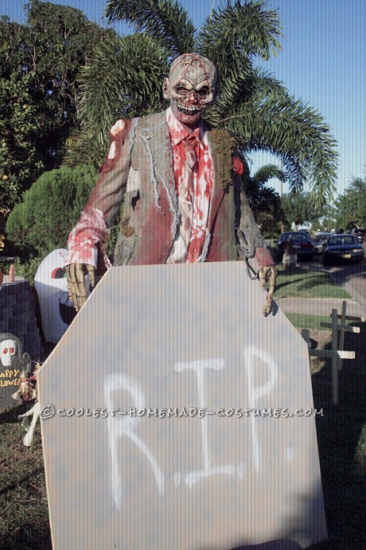 Cool Homemade Zombie Costume